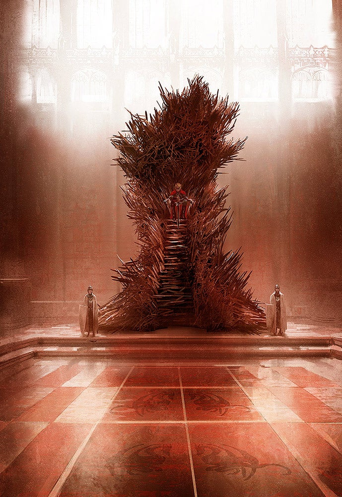 What The Iron Throne Should Really Look Like