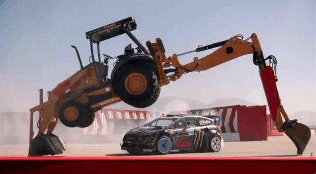 New Ken Block Video Turns Car Into Giant Pinball