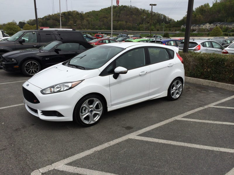 Pleasant surprises and tips from my first days with a Fiesta ST