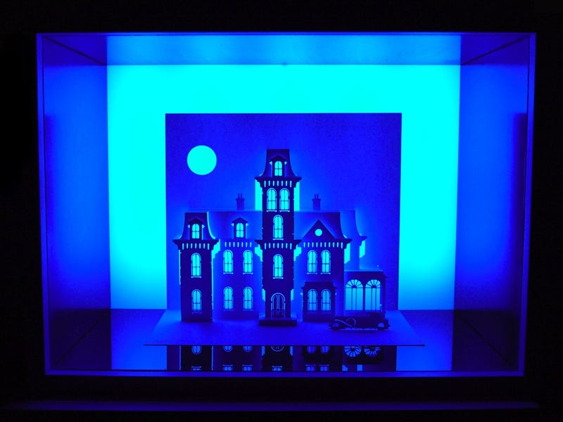 Film's Most Horrifying Homes Become Paper-Thin Art
