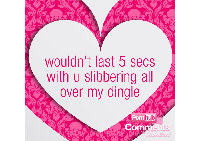 Porn Comments Make For The Worst Valentine Cards