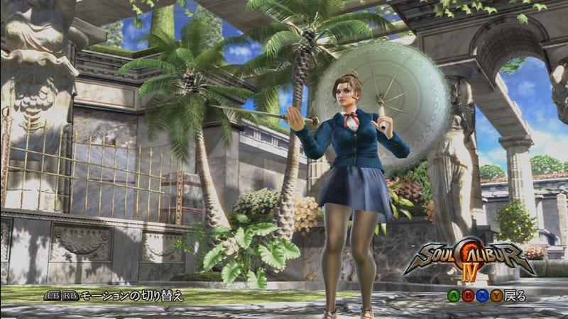 SoulCalibur IV Goes Schoolgirl