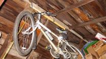 DIY bicycle hoist