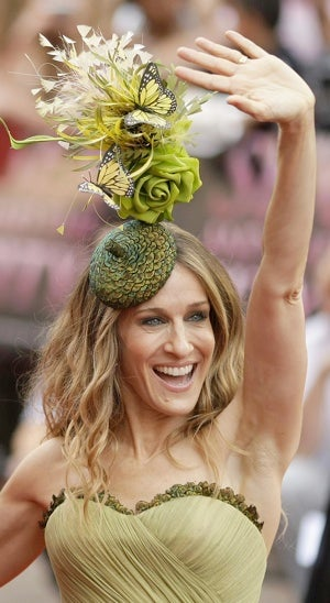 Why Sarah Jessica Parker's Hat Is Awesome (But Signals New York's Decline)