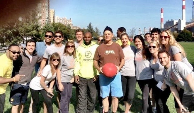 Bill Murray Crashed Some New Yorkers' Kickball Game and They Took Photos of It So People Would Believe Them