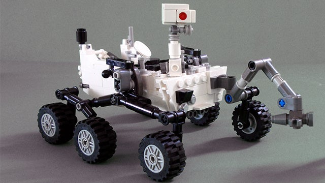 Lego Will Make a Mars Curiosity Rover Set