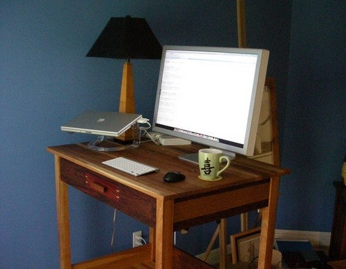 The Handcrafted Standing Desk