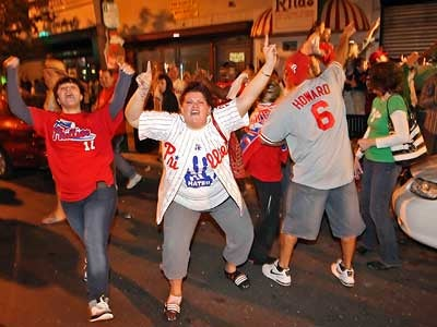 Overexcited Phils Fan Creates Grammatically Challenged Rally Cry