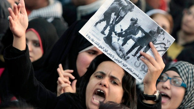 Egyptian Government Issues Apology, Will Likely Continue Treating Women Like Garbage