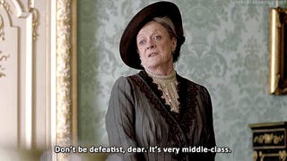 It's the Dowager Countess, er, Maggie Smith's Birthday!