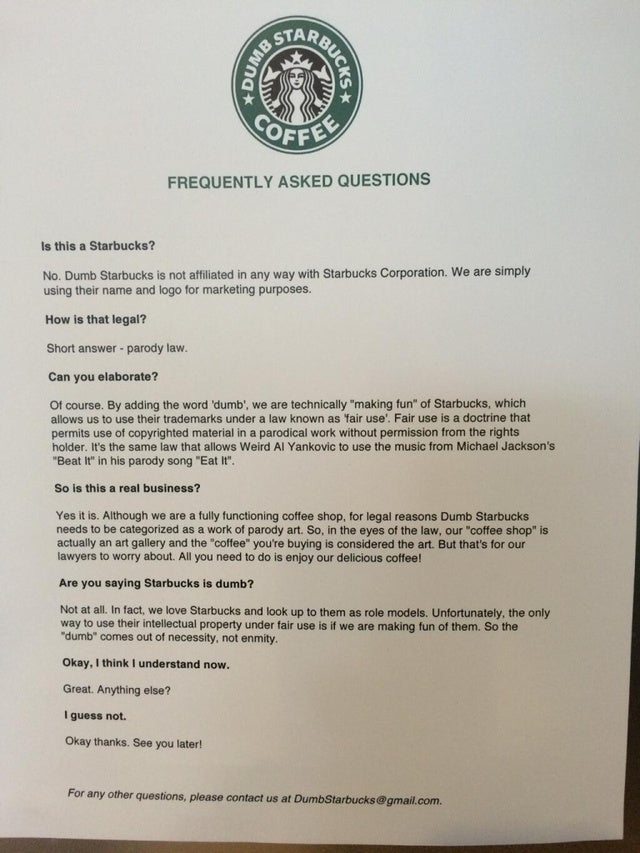"""Dumb Starbucks"" Coffee Store Opens in California"