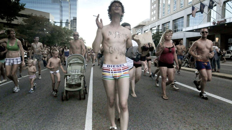 What Do You Call 3000 People Running Around Salt Lake City in Their Underwear?