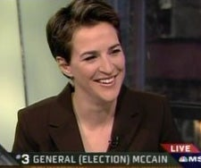Rachel Maddow For President (Of Cable News, That Is)