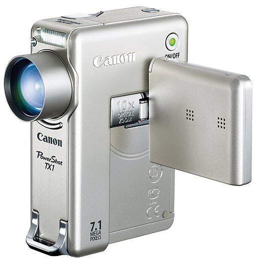 Canon PowerShot TX1 Shoots 720p HD, 7.1MP Stills