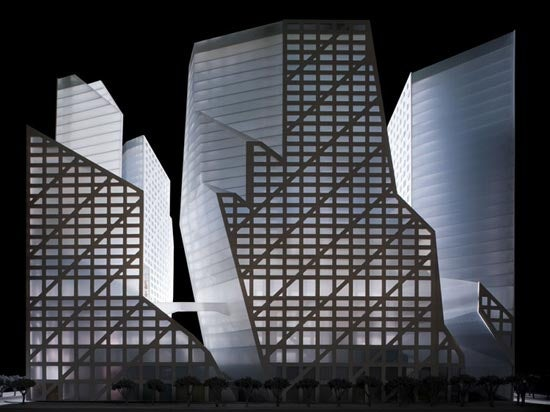 Chengdu's Sliced-Geometry Mega Complex Opens in 2010