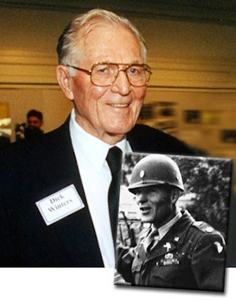 Maj. Richard Winters, Band of Brothers Hero, Dead at 92