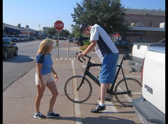 Just When You Thought Humanity Couldn't Go Lower, Someone Steals Shawn Bradley's Bicycle