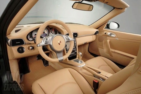 Which Is The 2009 Porsche 911 Interior?