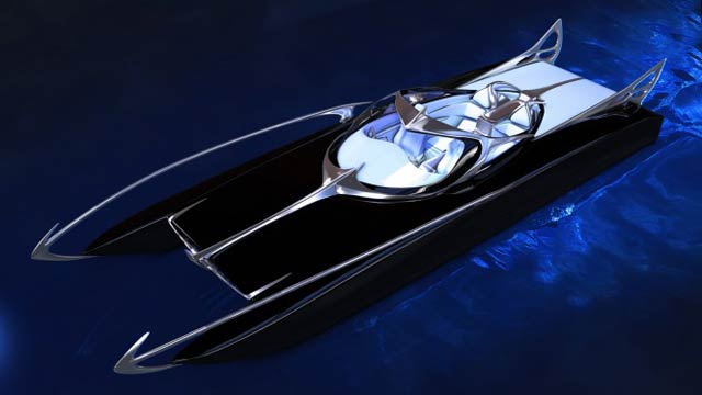 This Amazing Bat-Speedboat Is Real