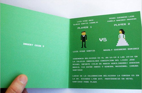 8-Bit Wedding To Be Followed By A Life Of Text Adventure