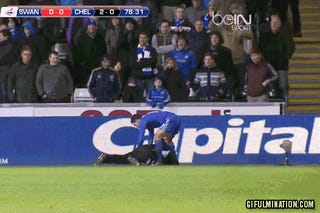 Chelsea's Eden Hazard Kicks Ballboy, Is Sent Off From League Cup Semifinal Match