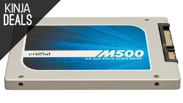 Upgrade to a 240GB SSD For Just $90 Right Now