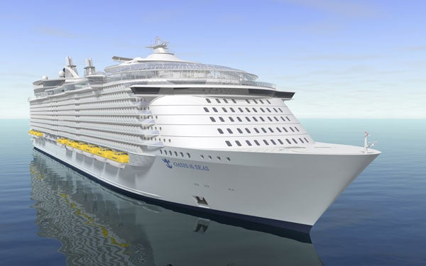 World's Largest Cruise Ship Let the Suburbs Travel With You
