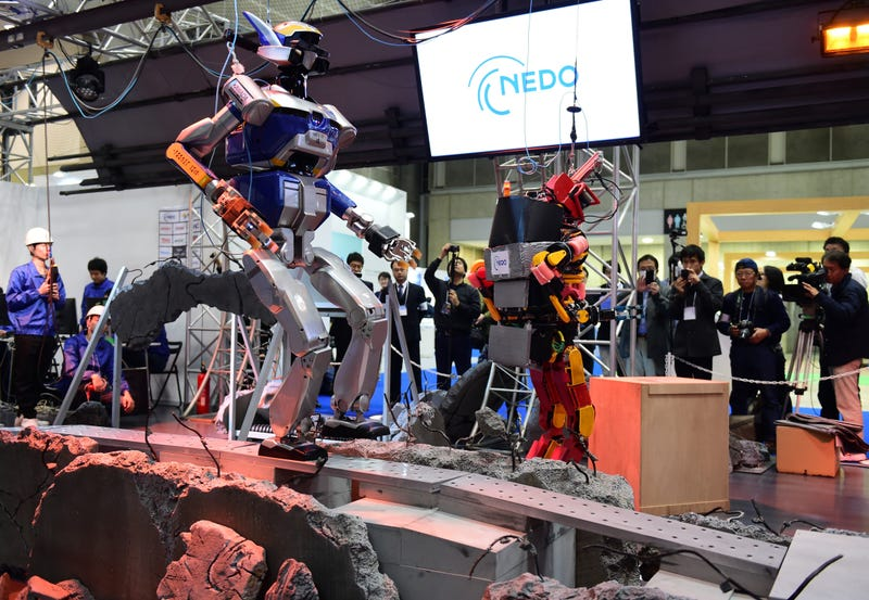 Creepy, Beautiful, Helpful, Badass: Here Come Futuristic Robots From Japan