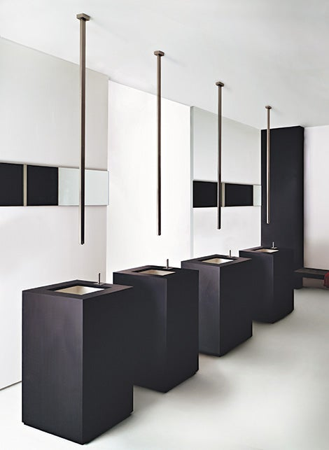 Rettangolo Sink Fixtures Rains Like Zeus' Own Ambrosia