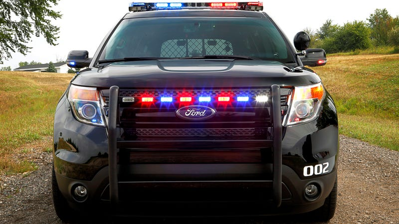 High-Powered Police SUV now offered by Ford