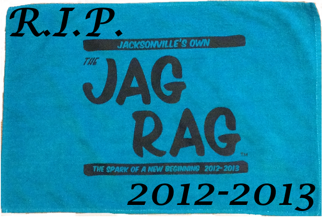 The Jag Rag, Jacksonville's Fan Towel, Will No Longer Be Sold
