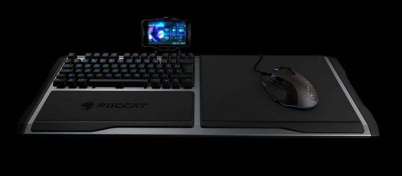 An Elegant Keyboard Solution For Couch-Based PC Gaming