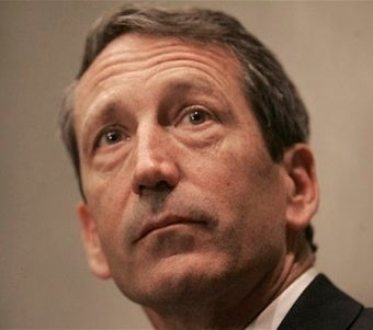 Sad Mark Sanford Still Thinks His Wife Might Take Him Back