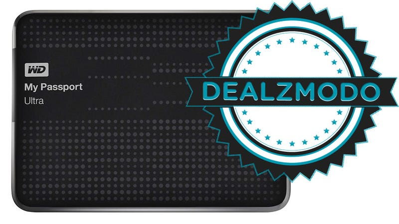 Dealzmodo: Portable Hard Drives With Cloud Backup, iTunes Money, PS3