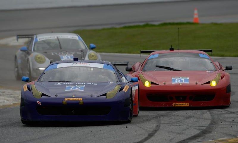 Help! I don't like watching racing!