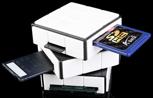Rubik's Cube Card Reader Will Only Make You Look Smarter