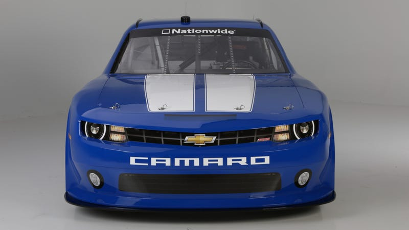 This Is Chevy's Badass NASCAR Camaro Race Car