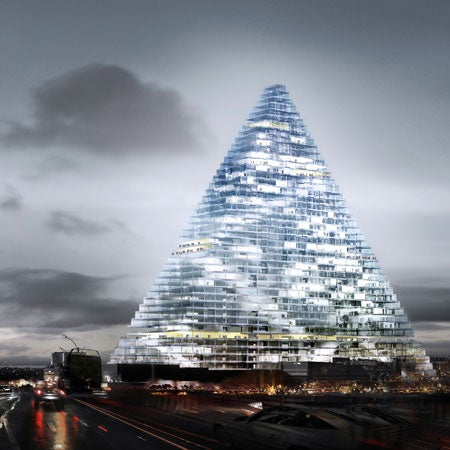 New Paris Building Casts No Shadows, Generates Electricity