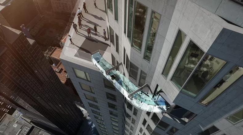 Terrifying Skyslide Will Be 1,000 Feet in the Air on the Outside of a Building