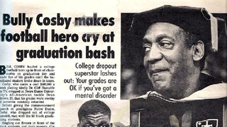 Bill Cosby Once Publicly Bullied A Notre Dame Football Player To Tears