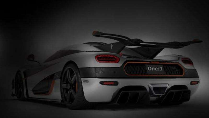 Koenigsegg One:1 Will Be A Ludicrous 1,340 Horsepower Man Eater