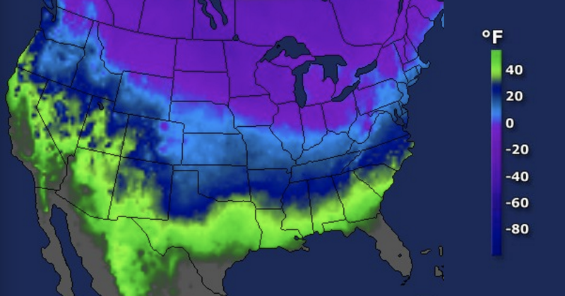 Polar Vortex Hype Has Returned With Arctic Blast on the Way