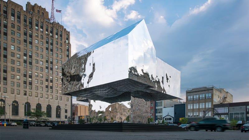 Flint, Michigan's Mirrored Memorial to the Foreclosure Crisis