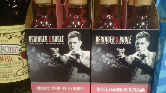 Michael Bublé and White Zinfandel Team Up to Ravage the Suburbs