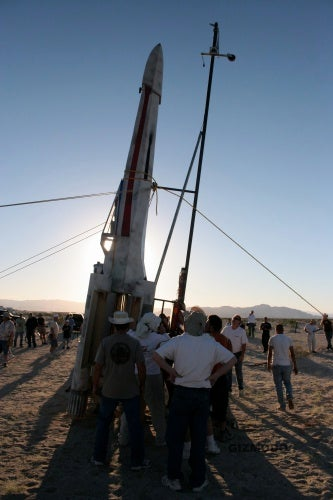 Video: The Rocket-Powered X-Wing's Flight...and Death