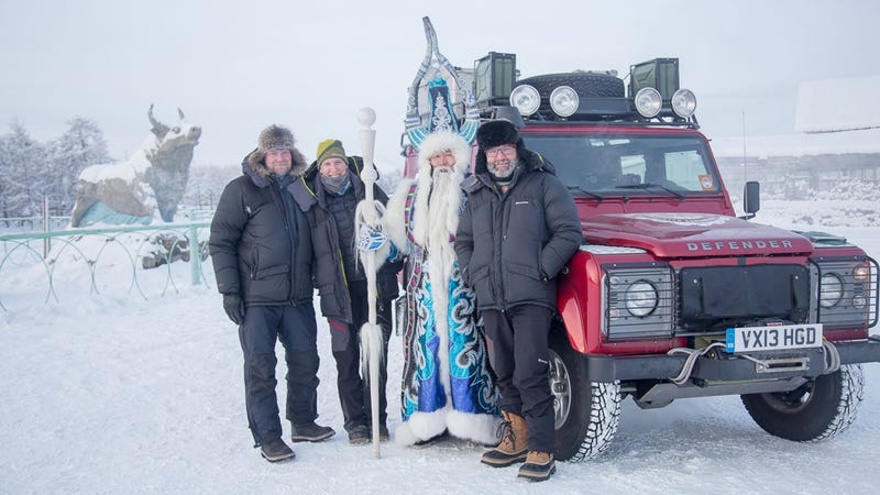 This Is How You Party With A Defender And The Siberian Gandalf
