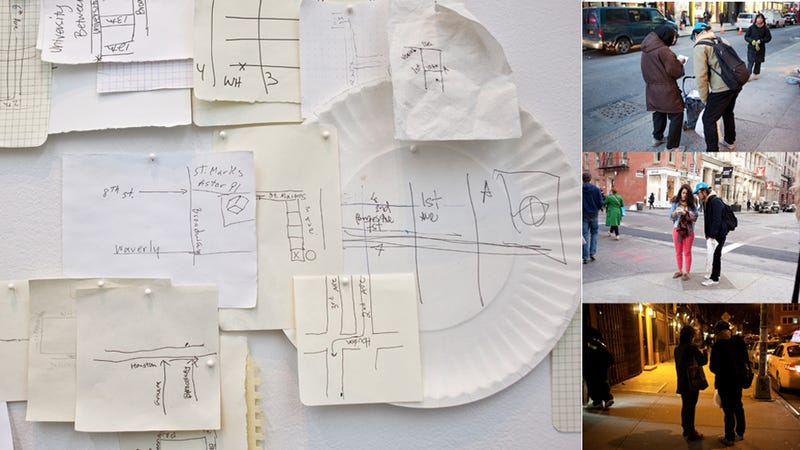 This Map of NYC Is Based on Directions Drawn By Complete Strangers