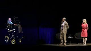 Stephen Hawking hologram lett, és előadást tartott a sydneyi operában