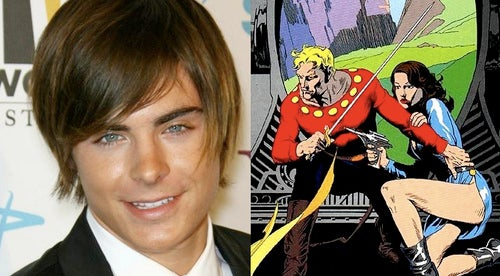 Is Zac Efron The New Flash Gordon?