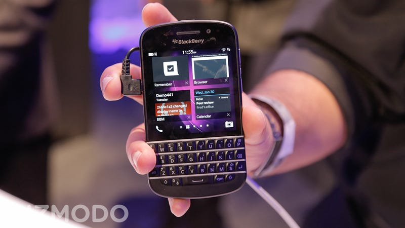 BlackBerry's Most Important Phone Isn't Its Flagship